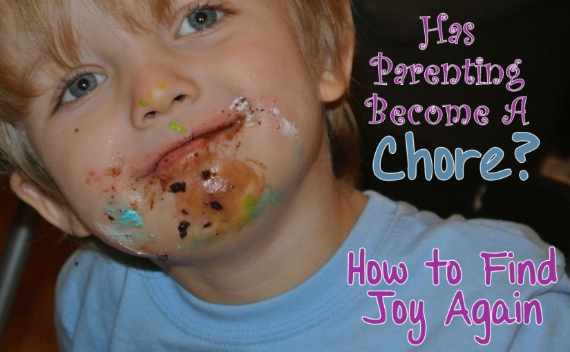 Return to the Joy of Parenting