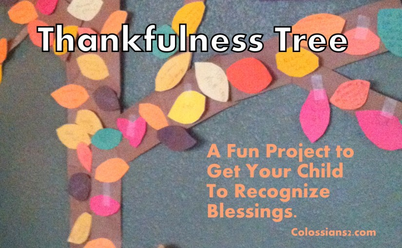 Thankfulness Tree