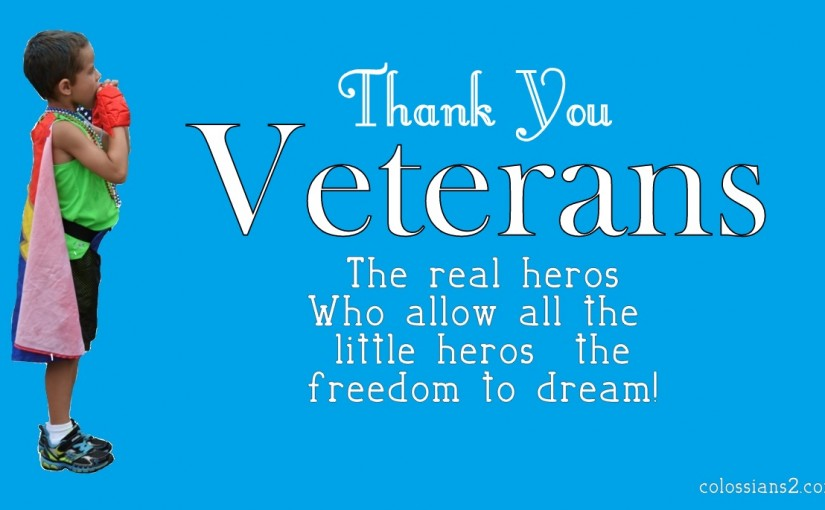 Thanks Veterans!